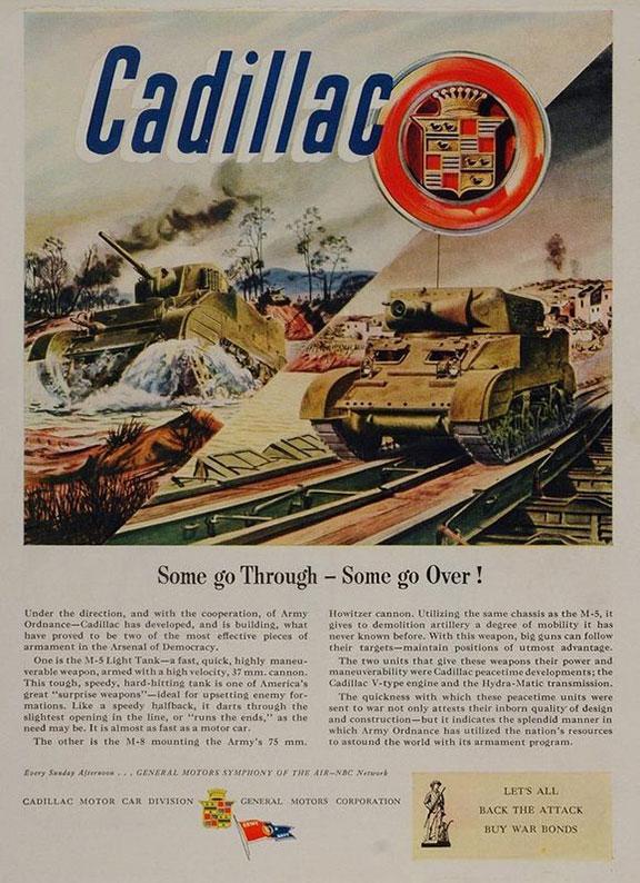 Cadillac In World War Two