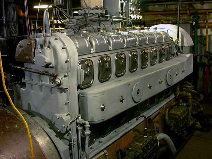 Cleveland Diesel In World War Two