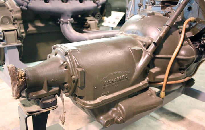 Detroit transmission division in world war two for General motors parts division
