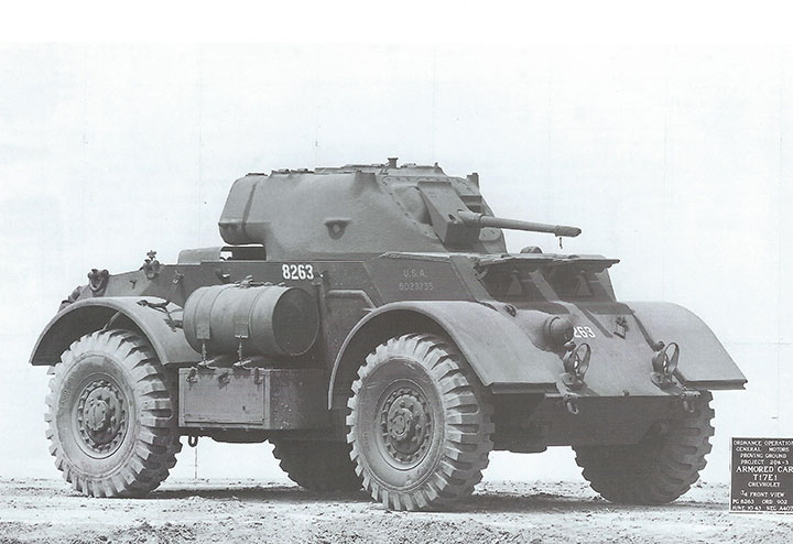 Gm Proving Ground In World War Two