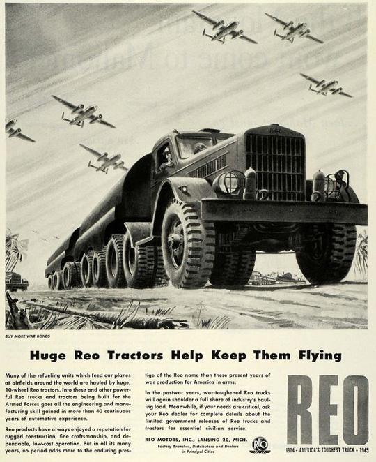 1942 : REO Motor Car Company In World War II