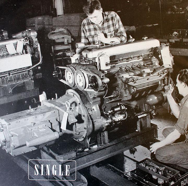 Single W on Gm 4 2 Inline 6 Cylinder Engines